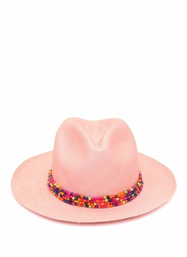 Ecua-Andino Panama Şapka Pembe